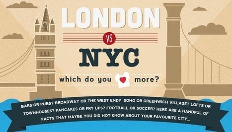 Nova York ou Londres? Que destino escolher? | Viagem Mundo | Dicas viagem Nova york | Scoop.it