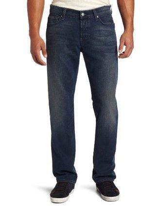 $@$  ATA519968 7 For All Mankind Mens Standard Classic Straight Leg Jean in Slate Nite, Slate Nite, 40 7 For All Mankind Slate Nite | levi's jeans for men on sale | Scoop.it