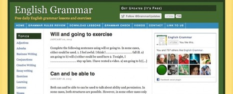 English Grammar: 10 Websites to learn and practice English ... | English teaching thru social networks | Scoop.it