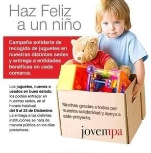 Campaña Solidaria de Navidad 2014: ¡Haz Feliz a un Niño! | Actividad Jovempa Vinalopó | Scoop.it