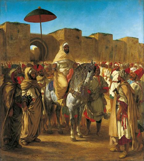 Delacroix au Maroc, l'éblouissement - France Culture | Musée des Augustins | Scoop.it