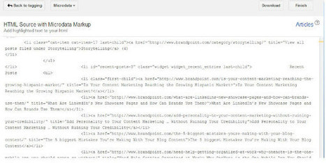 Optimize Your WordPress Blog Content with Google's Markup Helper | Social Media Bits and Bobs | Scoop.it