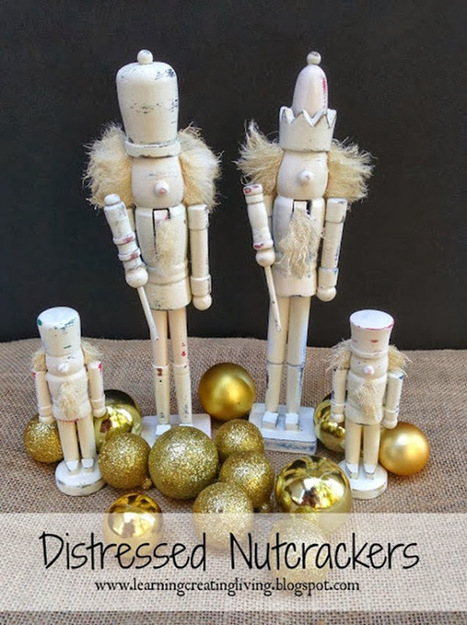 Ginger Snap Crafts: 15 Winter Home Décor Ideas | Christmas | Scoop.it