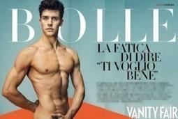 Roberto Bolle nudo nella copertina di Gennaio di Vanity Fair | JIMIPARADISE! | Scoop.it
