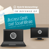 Is Your Business Card Social Media Friendly? [Infographic] - SocialTimes | Horse And Rider World | Scoop.it