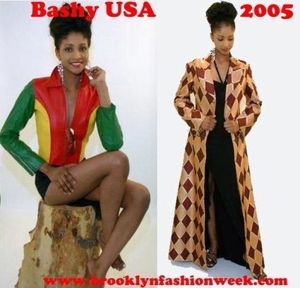 Photos du journal - Brooklyn Fashion Week | Bashy USA 2005 #TBT #Blackfashiondesigner #Brooklyn | Black Fashion Designers | Scoop.it