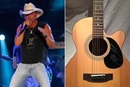 Win an Autographed Kenny Chesney Guitar - 12 Days of Christmas Giveaway - Taste of Country | Acoustic guitar world | Scoop.it