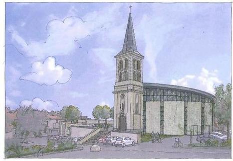 La nouvelle église de Gesté pour Noël 2017 | L'observateur du patrimoine | Scoop.it