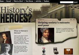 CristinaSkyBox: History's Heroes, Smart History | Great Teacher Tool Sites | Scoop.it