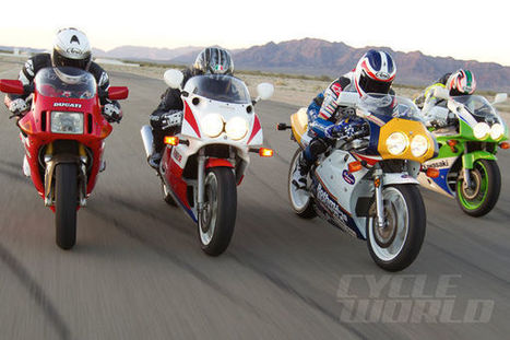 Superbikes With Soul: Classic vs. Modern Superbike Comparison Test | Ductalk Ducati News | Scoop.it