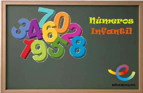 Conoce y repasa los números en educación infantil | Educapeques Networks. Portal de educación | Scoop.it