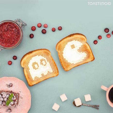 Smart Toaster Works with Ingenious App to Toast Your Bread Into Any Image You Want | Le It e Amo ✪ | Scoop.it