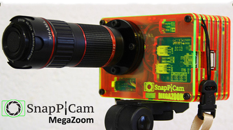 Raspberry Pi camera kit with interchangeable lenses hits Kickstarter ... | Arduino, Netduino, Rasperry Pi! | Scoop.it