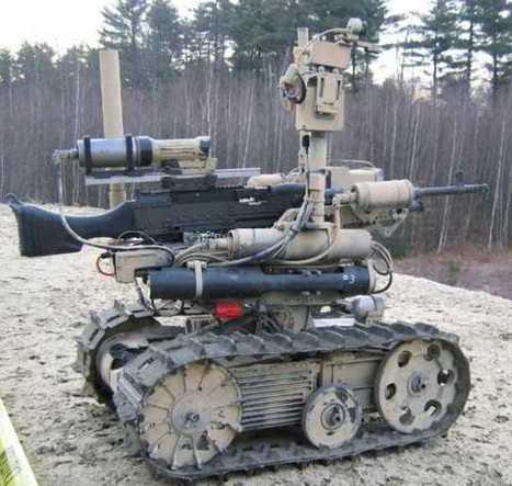 Future Army: Telepresence Battledroids and Smartguns Will Change Warfare ... - h+ Magazine | Wireless Remote Control Training | Scoop.it