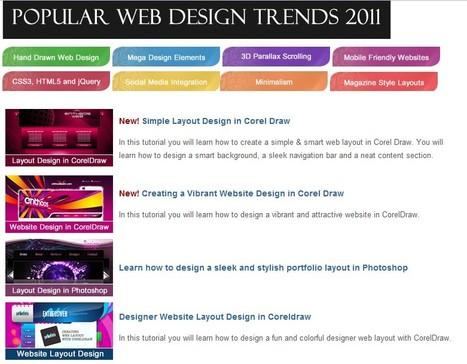 Web Design Tutorials | Website Design Services | Scoop.it