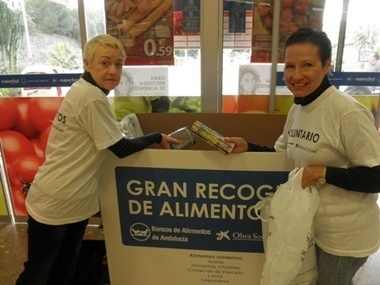 Malaga gives generously for food appeal   Tourism Costa del Sol Malaga A1   Scoop.it