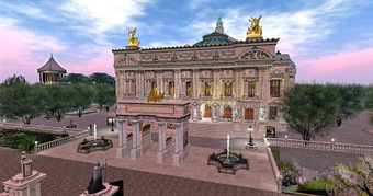 Eddi and Ryce Photograph Second Life: Great Second Life Destinations: The Royal Opera at Sunset | Second Life Destinations | Scoop.it