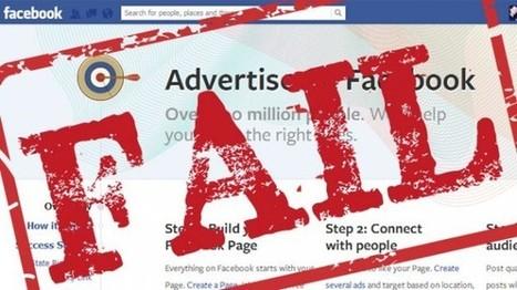 4 motivi per cui le pubblicità su Facebook posso anche non funzionare | SEO ADDICTED!!! | Scoop.it
