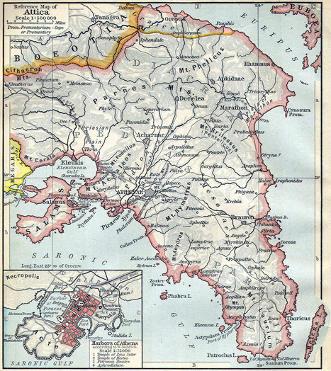 Geografía e Historia de Ática - Grecia ~ La Historia con Mapas | Mitología | Scoop.it