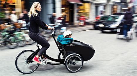 Trio Bike : vélo, triporteur et poussette, le vélo 3-en-1 - Citycle   Au Bron Vélo   Scoop.it