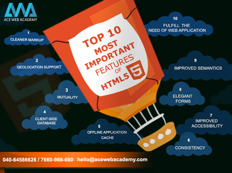 Top 10 Most Important Features Of HTML5   Ace Blog   Acewebacademy   Scoop.it