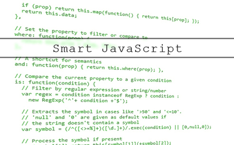 Improve Your Code with Smart JavaScript Techniques and Patterns | Web Development and Web Tools | Scoop.it