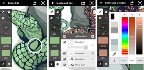 10 Apps for Creating and Discovering Art and Design  by RedBubble | Artdictive Habits : Sustainable Lifestyle | Scoop.it