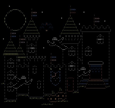 Favourite ASCII art :: dornyika | Halloween | Scoop.it