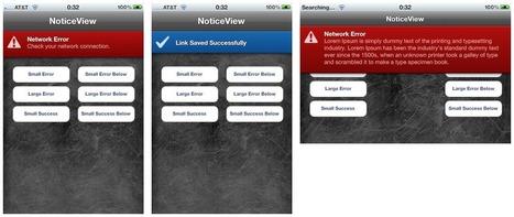 NoticeView | iOS third party developments | Scoop.it