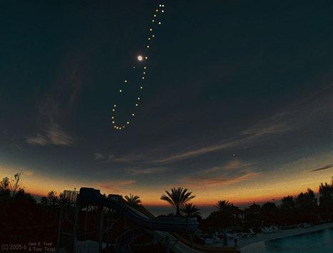 APOD: 2007 October 2 - Tutulemma: Solar Eclipse Analemma | OntarioStargazing Astro Highlights | Scoop.it