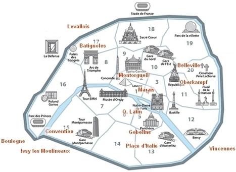 Les meilleurs arrondissements de Paris pour une colocation | Blog Paris Insolite | Travel | Scoop.it