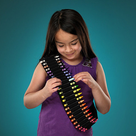 Crayon Bandolier Belt | All Geeks | Scoop.it