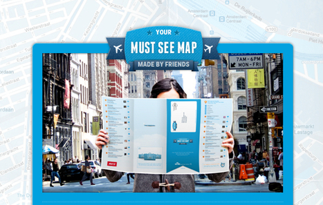 Influencia - TARGET - KLM crée une « social map » dédiée aux explorateurs | C'est la watch. | Scoop.it
