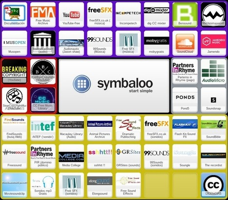 Webmix con bancos de música y sonidos con licencia CC | Recursos didácticos y materiales para la formación del profesorado. Servicio de Innovación y Formación del Profesorado | Scoop.it