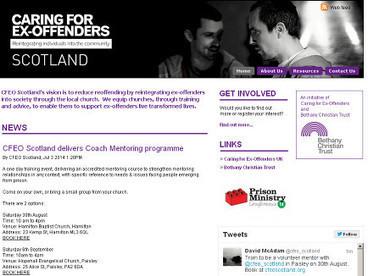 CFEO Scotland   Care for Reoffenders Scotland   Scoop.it