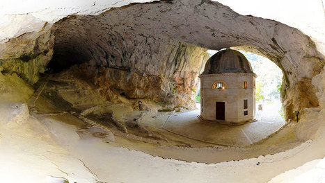 Temple of Valadier, Genga-Le Marche - one of 10 weird places to visit in Italy | Le Marche another Italy | Scoop.it