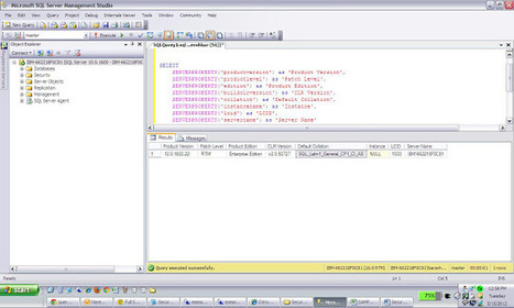 Simple Query to Get All Details About SQL Server ~ The MSSQLFix Solutions | Microsoft SQL Server Tutorials | Scoop.it