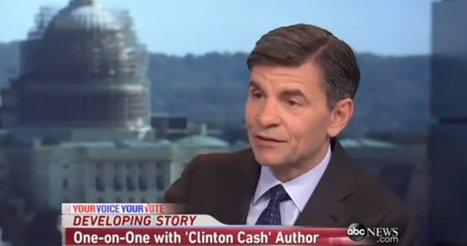 #America the land of the #corrupt. #WikiLeaks: E-Mail Shows #Stephanopoulos Colluded with #Clinton Campaign to Discredit 'Clinton Cash' Author   USA the second nazi empire   Scoop.it