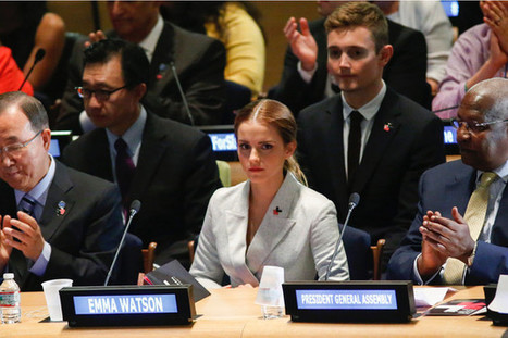 Emma Watson Delivers Game-Changing Speech on Feminism for the U.N.   Nonprofits that support women and girls!   Scoop.it