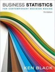 Test Bank For » Test Bank for Business Statistics for Contemporary Decision Making, 7th Edition: Black Download | Business Statistics Test Bank | Scoop.it