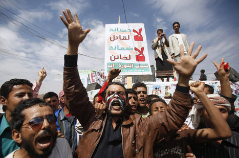 Protesters killed in Yemeni capital - Middle East - Al Jazeera English | Human Rights and the Will to be free | Scoop.it