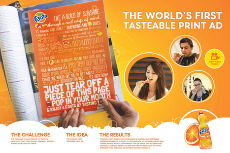Vidéo : La première publicité au monde qui se mange ! - Konbini | communication par l'objet | Scoop.it