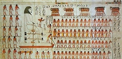 Ancient Painting Reveals How Egyptians Lugged Statues Across the Desert | Ancient Egypt and Nubia | Scoop.it