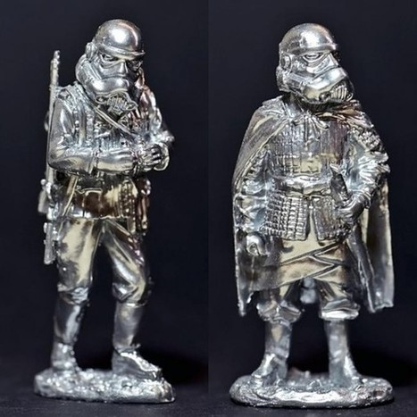 Plastic Foundry   Chrome Silver   Inferior Troopers - VinylesChiles ...   Talleres   Scoop.it