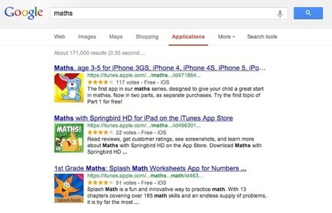 Apps in Education: New Google App Search Feature | iPads, MakerEd and More  in Education | Scoop.it