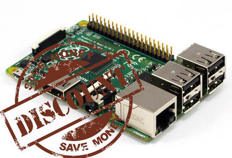 Raspberry Pi Model B+ Can Now Be Purchased for About $30 Shipped | Embedded Systems News | Scoop.it