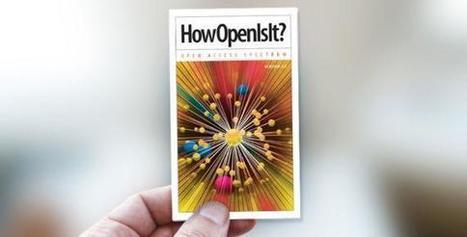 Abierto?, SIEMPRE!: HowOpenIsIt? Guía para evaluar revistas de Acceso Abierto | Maestr@s y redes de aprendizajes | Scoop.it