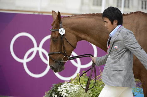 Olympic Eventing: Japanese rider is surprise leader after dressage; XC underway today | Equestrian Olympics 2012 | Scoop.it