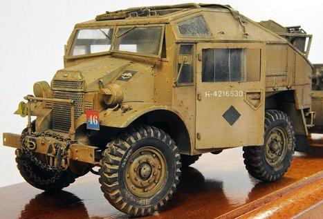 Quad F.A.T. + 25 Pdr Field Gun | Military Miniatures H.Q. | Scoop.it