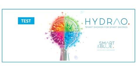 Hydrao de Smart & Blue : test du pommeau de douche connecté économe | Matériel informatique : nouveautés, produits originaux, nouvelles idées... | Scoop.it